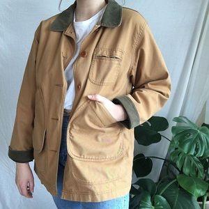 Vintage Canvas Chore Jacket